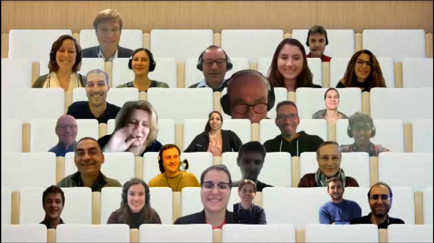 annual meeting group photo screenshot